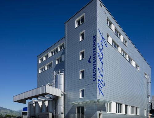 Milchhof Liechtenstein – Neubau